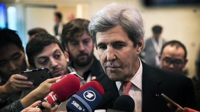 Cựu Ngoại trưởng John Kerry (Ảnh: EPA)
