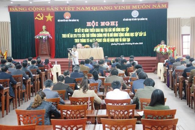 Phong trào xây dựng Xã hội học tập của tỉnh Quảng Trị đang đạt được nhiều thành quả nổi bật