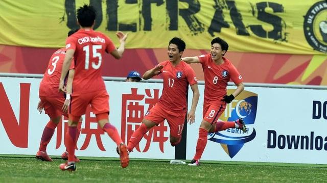 U23 Hàn Quốc thể hiện sức mạnh của ứng cử viên vô địch