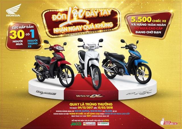 Cơ hội mua xe trúng xe với Honda Việt Nam - 1