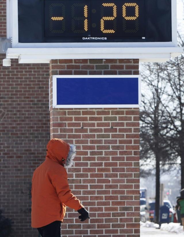 Nhiều bang ở Mỹ đã ban bố tình trạng khẩn cấp do đợt lạnh kỷ lục. (Ảnh: Reuters)