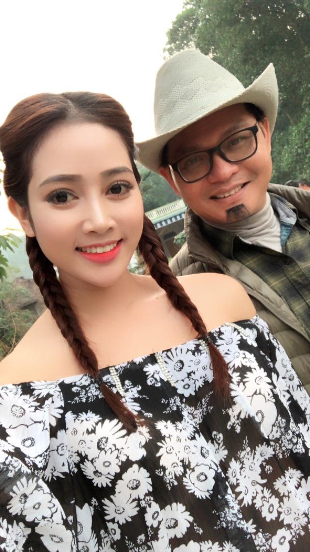 Lương Thanh Hằng và NSND Trung Hiếu.