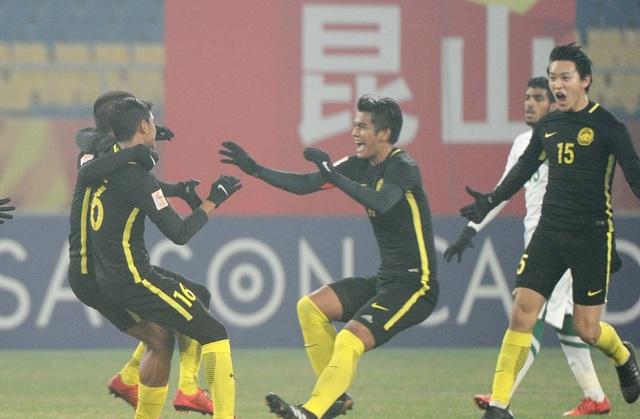 U23 Malaysia làm nên lịch sử khi lọt vào tứ kết giải U23 châu Á