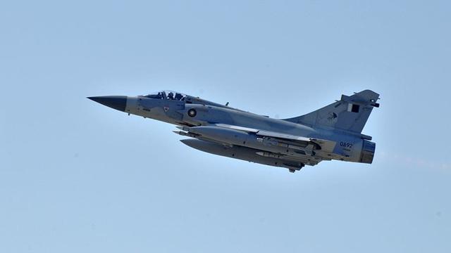 Một máy bay chiến đấu của Không quân Qatar (Ảnh: Reuters)