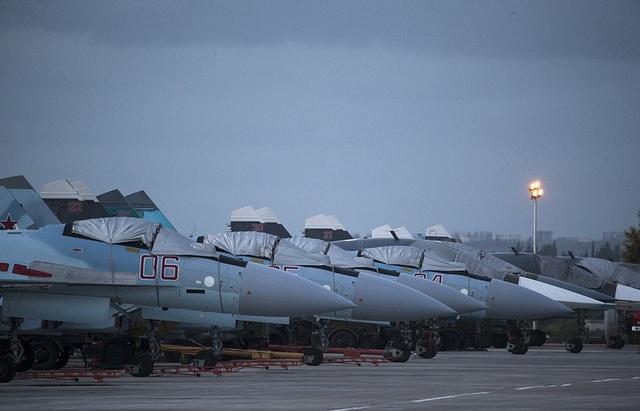 Căn cứ Hmeymim của Nga tại Syria (Ảnh: TASS)