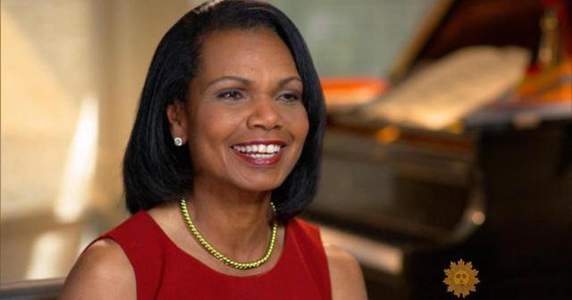 Cựu Ngoại trưởng Condoleezza Rice (Ảnh: CBS)