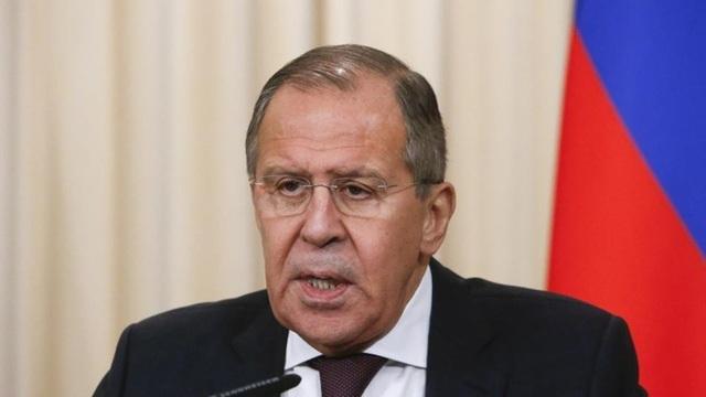 Ngoại trưởng Nga Lavrov (Ảnh: Reuters)