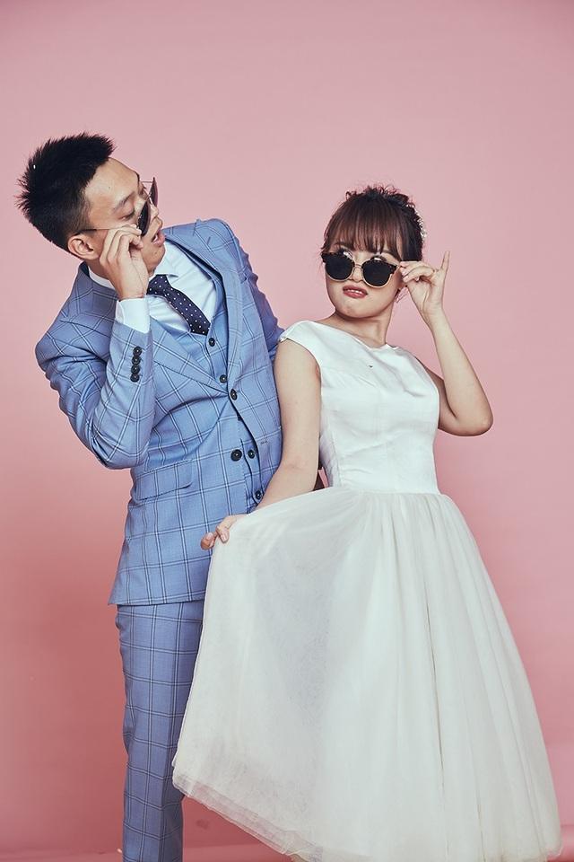 """""""Mình yêu vợ vì cô ấy rất đáng yêu, xinh xắn, vui tính, cũng """"lầy lội"""" giống mình..."""", Nhật Anh nói."""