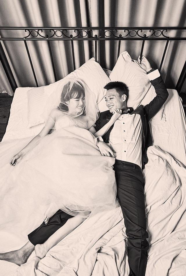 """Bộ ảnh cưới """"lầy lội"""" của cặp đôi nhạc chế - 8"""