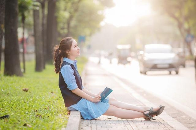 Nụ cười đẹp tựa nắng thu của nữ sinh Hà thành - 12