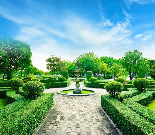 """Các biệt thự Victoria Village có tầm nhìn thoáng ra vườn trung tâm, thiết kế theo phong cách Victoria"""""""
