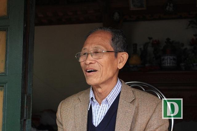 Ông Nguyễn Tiến Viễn khẳng định phải có mối mới thu mua được đầu đạn cũ.