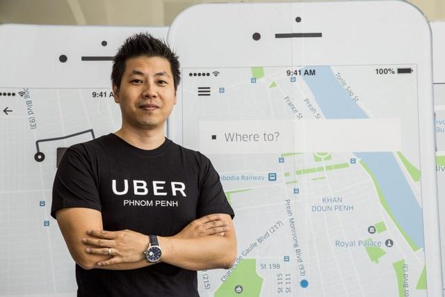 Pascal Ly, Giám đốc Điều hành mới của Uber tại khu vực Cambodia