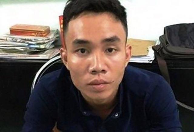 Bị can Phong tại cơ quan điều tra.