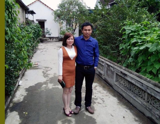 Vợ chồng anh Nguyễn Trung Phú - Hoàng Thị Yến