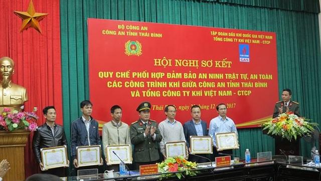 Phối hợp bảo vệ an ninh, an toàn Hệ thống khí Hàm Rồng - Thái Bình - 1