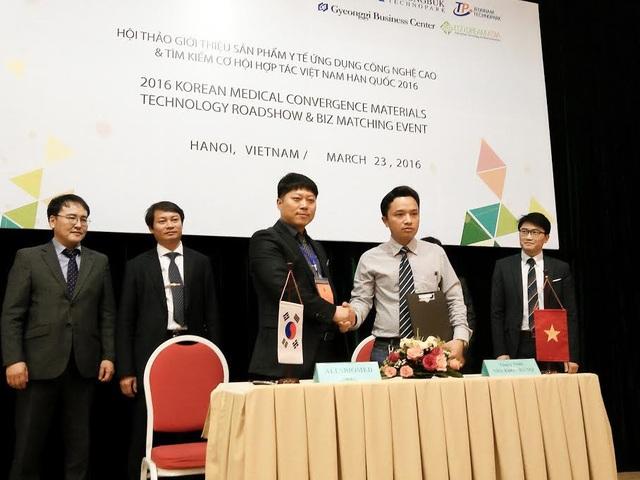 Nha khoa Smile One hợp tác về công nghệ và chuyển giao kỹ thuật với đối tác Hàn Quốc