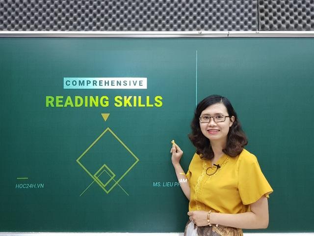Cô giáo tiếng Anh, Phạm Liễu