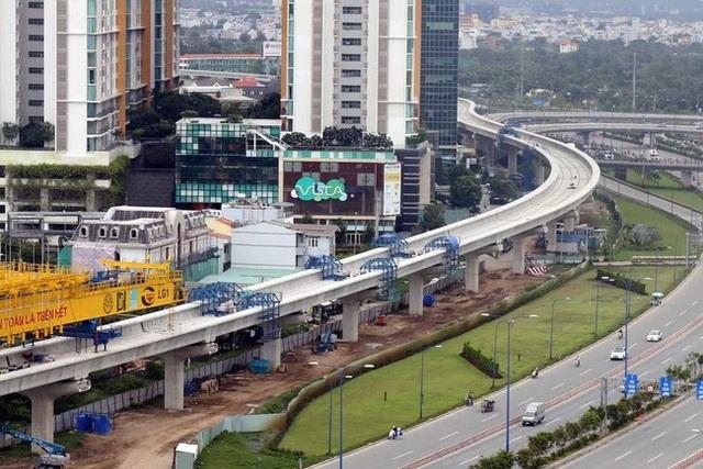Trong năm 2018, hàng loạt dự án nghìn tỷ đổ bộ quanh trục Metro số 1 nối dài