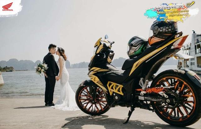 """Bức ảnh đạt giải Nhất """"Winner: Triệu khoảnh khắc - Một đam mê"""" của biker Hoàng Thanh Tùng"""