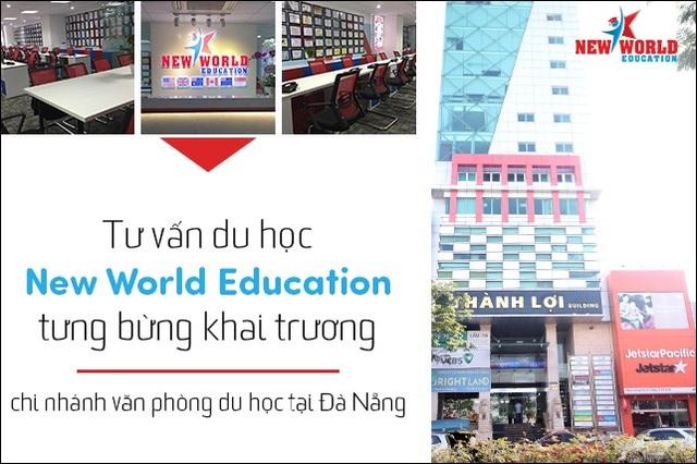 Du học New World Education tưng bừng khai trương chi nhánh tại Đà Nẵng - 1