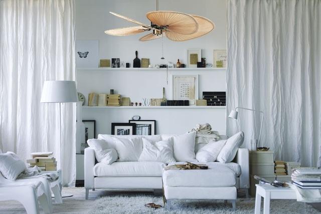 Không chỉ có chức năng làm mát và điều hòa không khí, quạt trần ngày nay được thiết kế đẹp, đa dạng phong cách có tính thẩm mỹ, độc đáo cao.