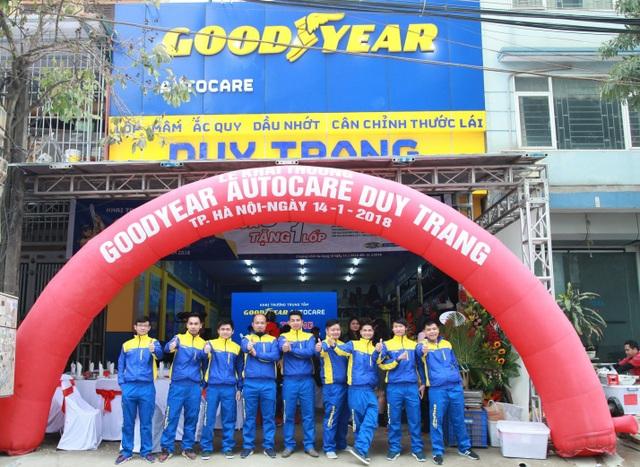 Goodyear tiếp tục mở rộng chuỗi Autocare tại Hà Nội - 1