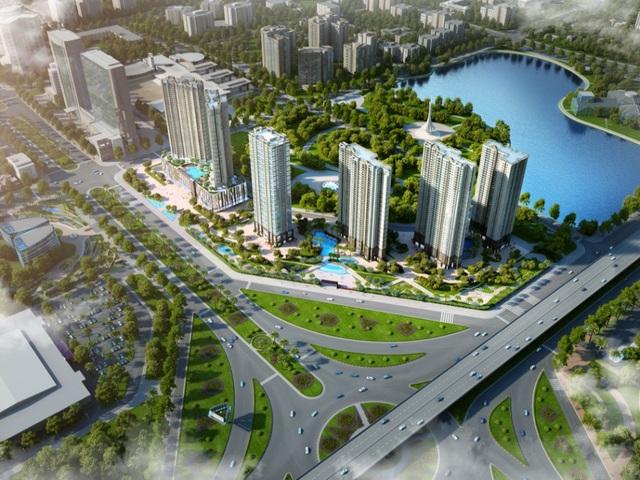 D'.Capitale – dự án duy nhất sở hữu 3 mặt tiền giáp Khuất Duy Tiến, Trần Duy Hưng và Hoàng Minh Giám - một trong những tiêu điểm của thị trường bất động sản phía Tây Nam Hà Nội