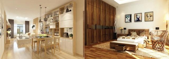 Các căn hộ tại Center Point Cầu Giấy được thiết kế hiện đại, đề cao yếu tố sang trọng, thẩm mỹ và tính tiện nghi cho gia chủ.