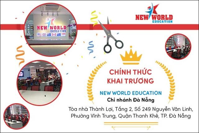 Du học New World Education tưng bừng khai trương chi nhánh tại Đà Nẵng - 2