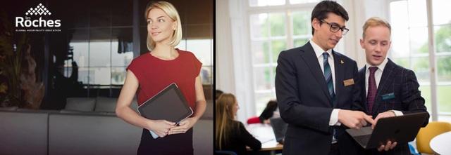 Tốt nghiệp ngành Quản trị kinh doanh tại Glion & Les Roches, bạn có thể làm việc ở nhiều lĩnh vực khác nhau như: quản lý nhà hàng, khách sạn, resort, tổ chức sự kiện, truyền thông...