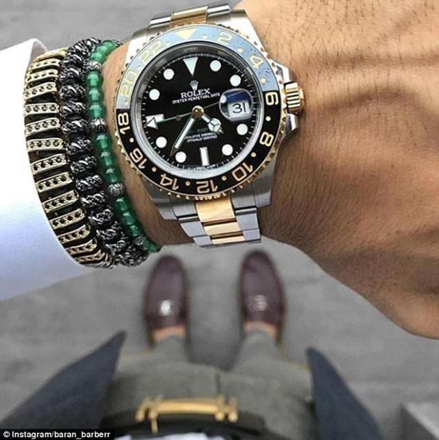 Những chàng trai cũng  đua nhau khoe đồng hồ, phụ kiện có giá hàng triệu USD.