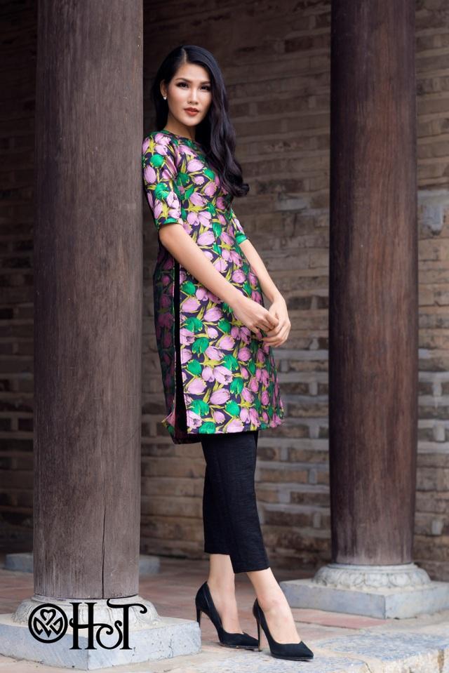 Nếu không tự tin về vòng eo khi mặc áo dài truyền thống thì áo dài cách tân lại là lựa chọn không tồi đâu