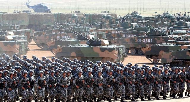 Quân đội Trung Quốc. (Ảnh minh họa: Reuters)