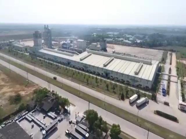 Khu Công nghiệp Quán Ngang là nơi tập trung rất đông lao động tại Quảng Trị