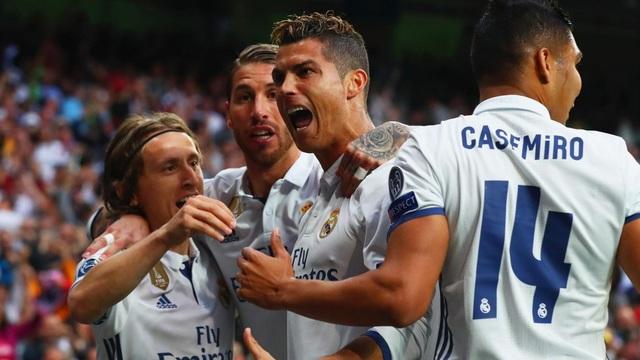 Real Madrid thống trị đội hình tiêu biểu UEFA năm 2017