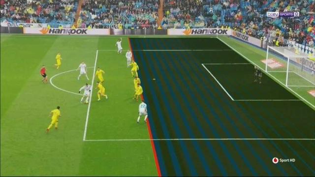 Isco không hề việt vị trước khi thực hiện đường chuyền cho C.Ronaldo