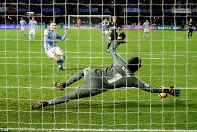 Celta Vigo tìm được bàn thắng ở cuối trận để kiếm về 1 điểm trước Real Madrid