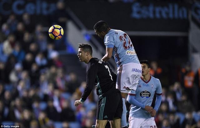C.Ronaldo tiếp tục có một trận đấu gây thất vọng