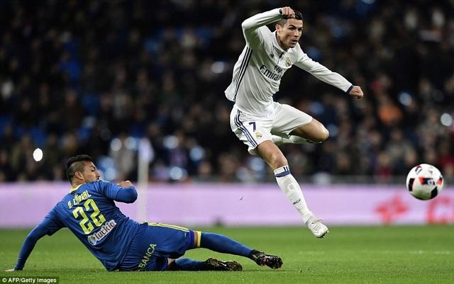 C.Ronaldo đang thể hiện phong độ khá thất vọng