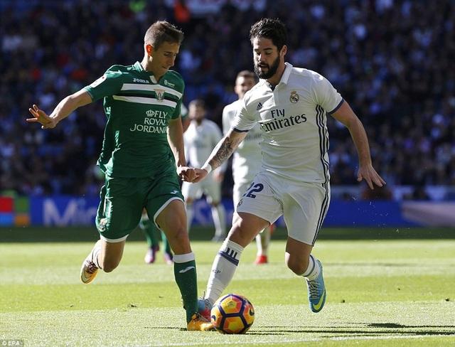 Trận đấu với Leganes có ý nghĩa quyết định với Real Madrid và HLV ZIdane