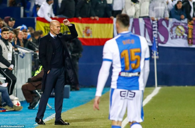 Thầy trò HLV Zidane chiếm lợi thế lớn để có mặt ở bán kết Cúp Nhà vua