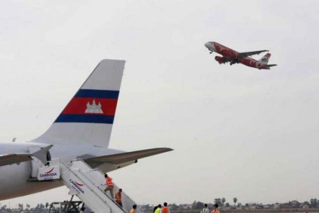 Sân bay quốc tế Phnom Penh (Ảnh: Asia Networks)