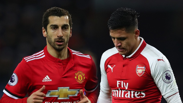 Vụ trao đổi Alexis Sanchez và Mkhitaryan của MU và Arsenal đang dần đi tới hồi kết
