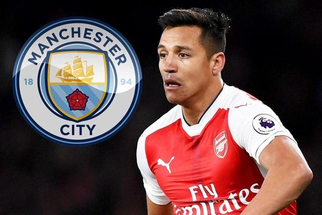 Man City sắp sở hữu Sanchez