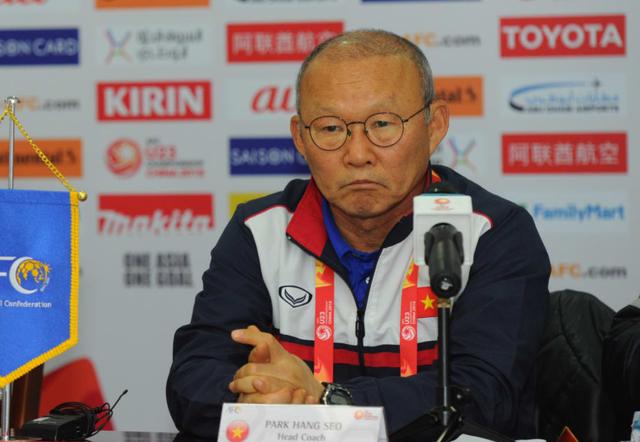 HLV Park Hang Seo tự tin trước cuộc đấu với U23 Iraq