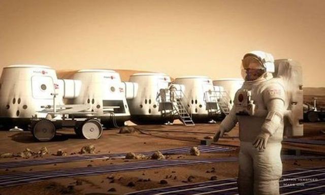 Sự tồn tại của băng có thể giúp các nhà du hành tái tạo thành nước để sử dụng khi khám phá sao Hỏa.