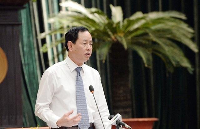 Ông Trần Ngọc Tâm, Cục trưởng Cục thuế TPHCM