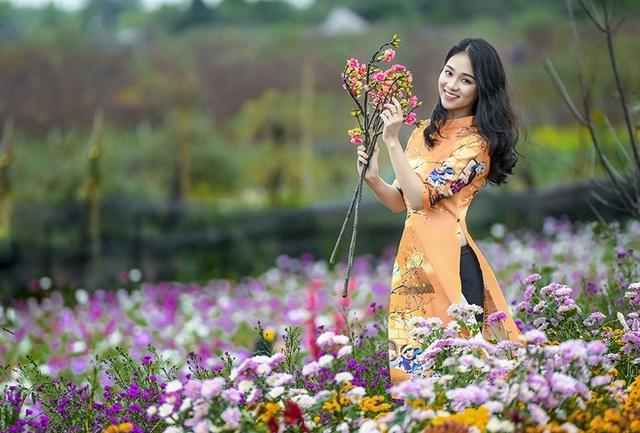 Gương mặt tươi đẹp, đầy sức sống này là Nguyễn Ngọc Anh, hiện đang học lớp 11 trường THPT Nguyễn Bỉnh Khiêm (Hà Nội).