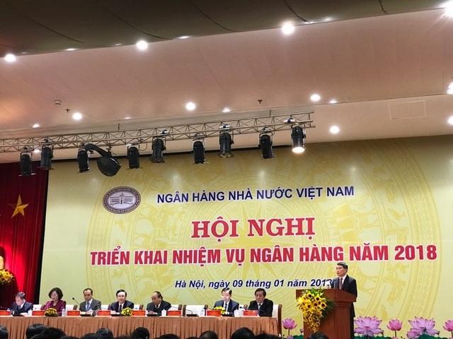 Tại hội nghị triển khai công tác ngành chiều nay 9/1, Thống đốc Lê Minh Hưng đã cho biết số liệu mới nhất liên quan tới dự trữ ngoại hối của Việt Nam (ảnh: AH).